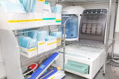 院内感染予防対策にも力を入れ取り組んでいます